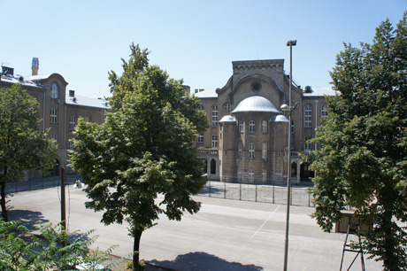 Courtyard of the Second Girls High School
