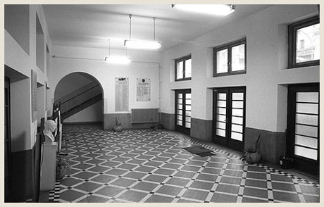 Lobby of the First Boys High School